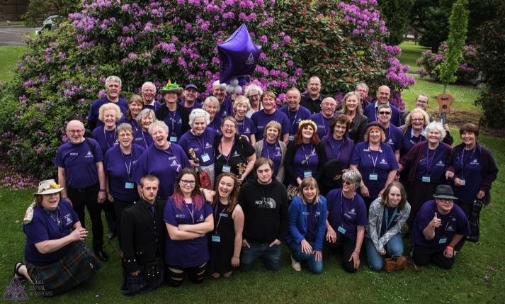 Purple Army - Ukulele Festival of Scotland